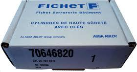 Pose et changement de cylindre Fichet 787 z.